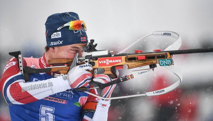 Норвежец Л'Абе-Лунд стал самым быстрым на этапе в Холменколлене