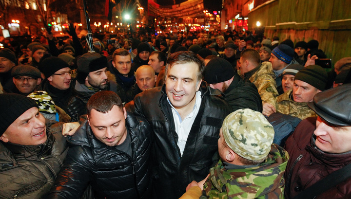 Вооруженных соратников Саакашвили задержали за подготовку захвата Рады