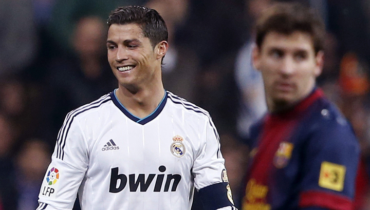 """Реал"" – ""Барселона"". Месси и Роналду в составе, Бэйл в запасе"