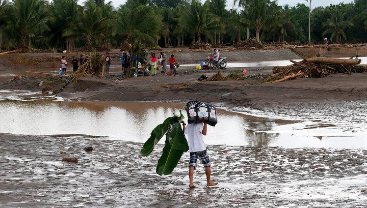 Тропический шторм на Филиппинах: 200 человек погибли