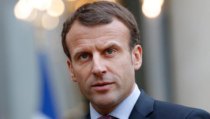 Макрон: Франция поддержит военное присутствие США в Сирии