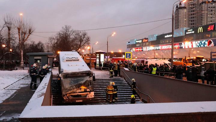 Водителя въехавшего в переход автобуса поместили под домашний арест