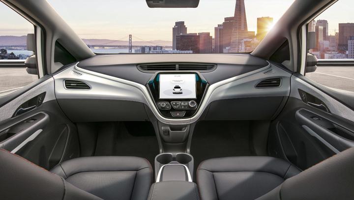 General Motors выпустит машину без руля и педалей
