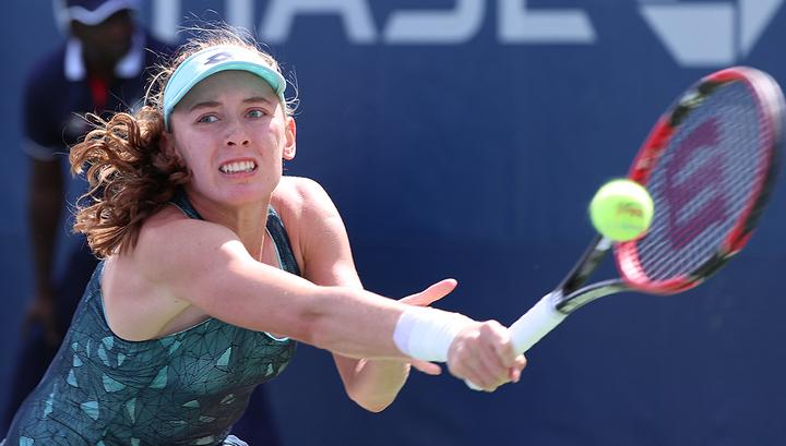 Australian Open. Александрова была сильнее словенки Херцог