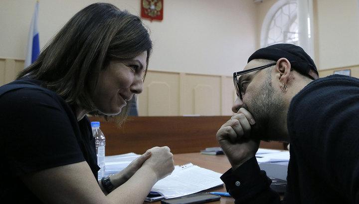 Серебренников останется под арестом еще 3 месяца