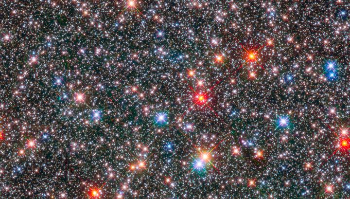 Астрономы составили карту движения 10 тысяч звёзд в центре Галактики