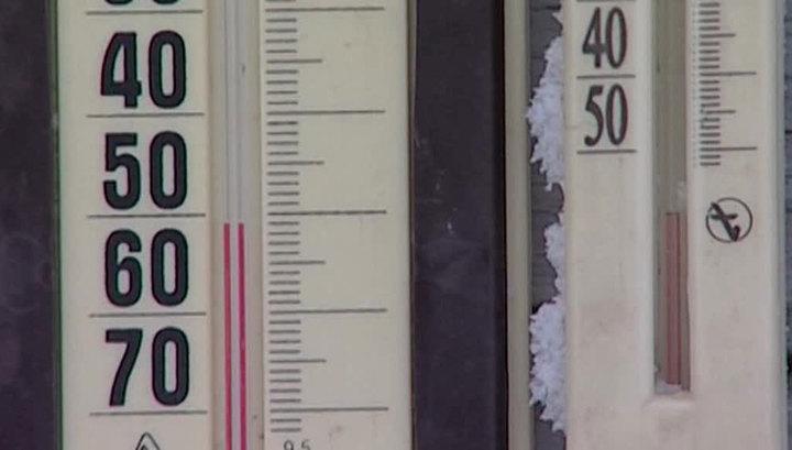 На Сахалине свирепствует циклон, в Кузбассе - аномальные морозы