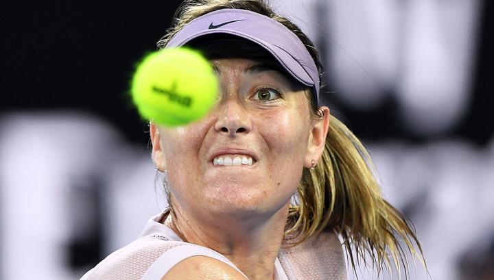 Теннисистка Мария Шарапова: нужно быть агрессивнее