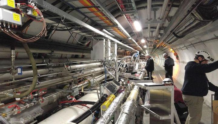 На Большом адронном коллайдере обнаружена частица, которую ждали 50 лет