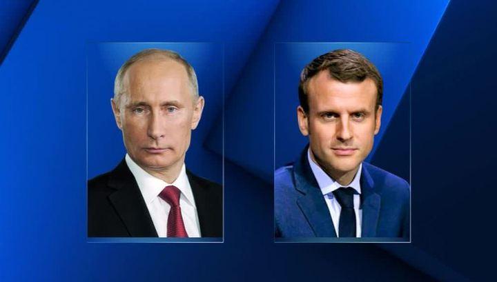 """Исторический диалог с Путиным: Макрон хочет """"состыковать Россию с Европой"""""""