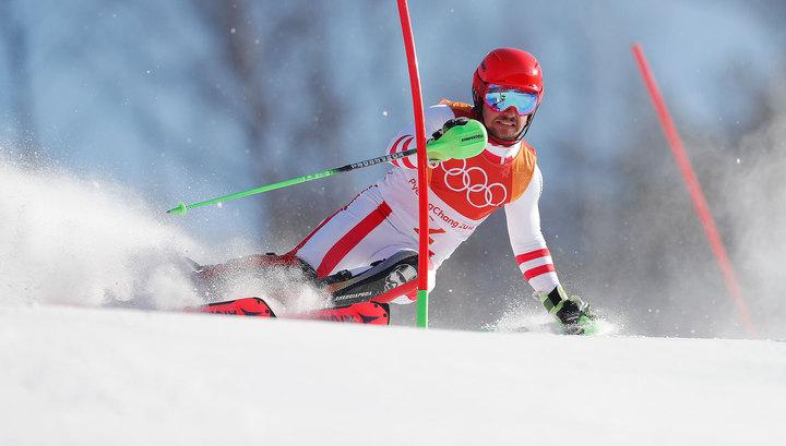 Горнолыжник Хиршер стал двукратным чемпионом Игр в Южной Корее