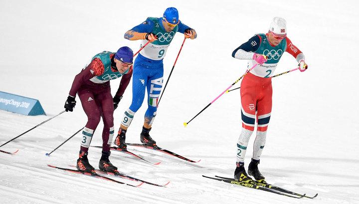 Большунов и Спицов будут бороться за золото Игр в спринте