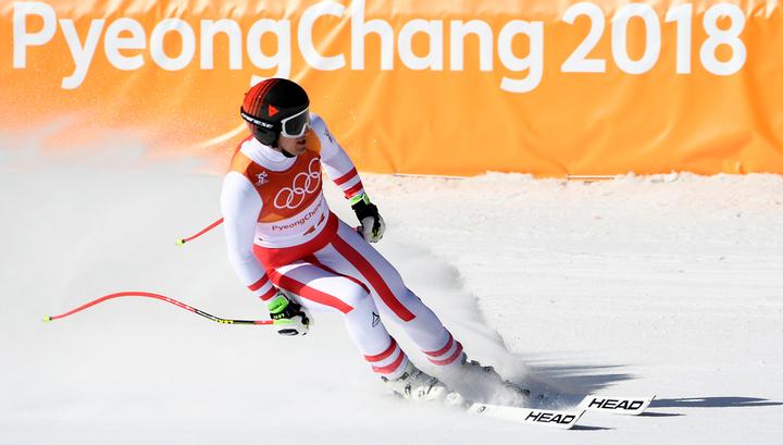 Австрийский горнолыжник Майер выиграл золото в супергиганте