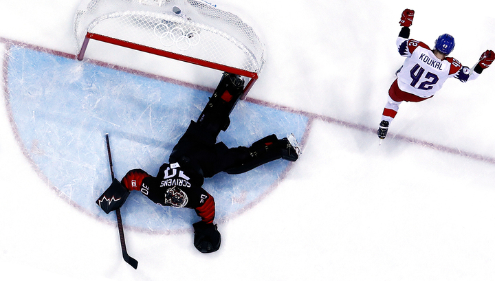Сборная Чехии по хоккею вышла в четвертьфинал вслед за россиянами