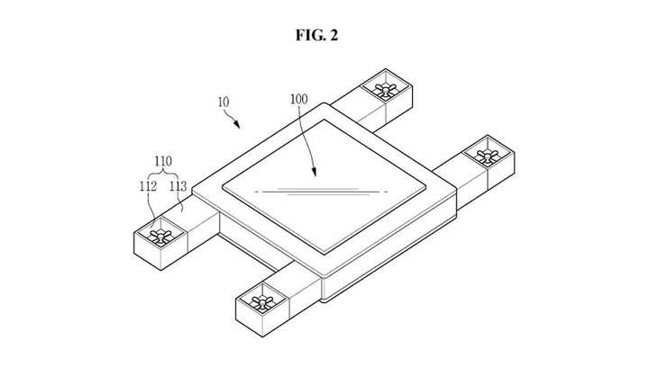 В Samsung придумали летающий планшет, управляемый взглядом