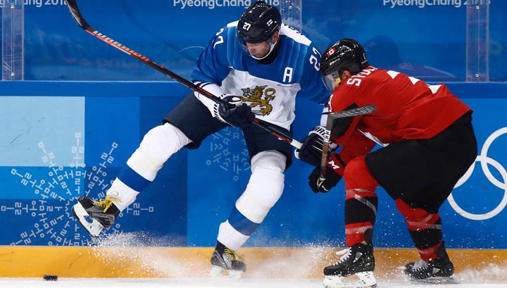 Хоккей. Канадцы обыграли финнов и вышли в полуфинал Игр