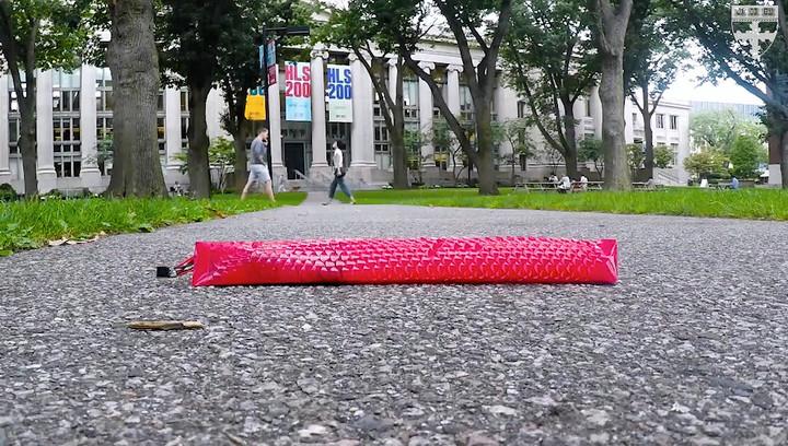 Робот-змея ползет благодаря секретам киригами