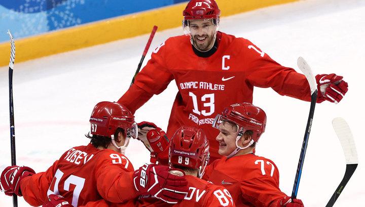 Финал олимпийского хоккейного турнира на сайте Вести.Ru