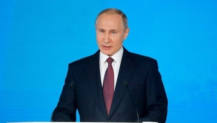 Putin's Speech to Federal Assembly Longest Ever on Record, As Was Number of Attendees