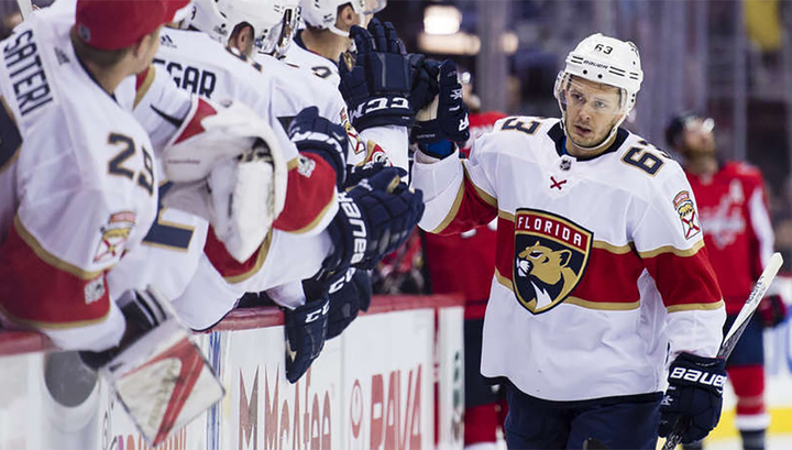 """Шайба Дадонова помогла """"Флориде"""" одолеть """"Детройт"""" в матче НХЛ photo"""