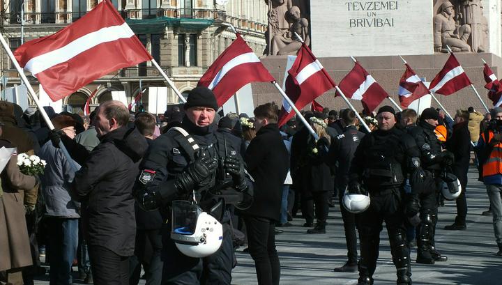 Москва обратила внимание мирового сообщества на сборище эсэсовцев в Риге