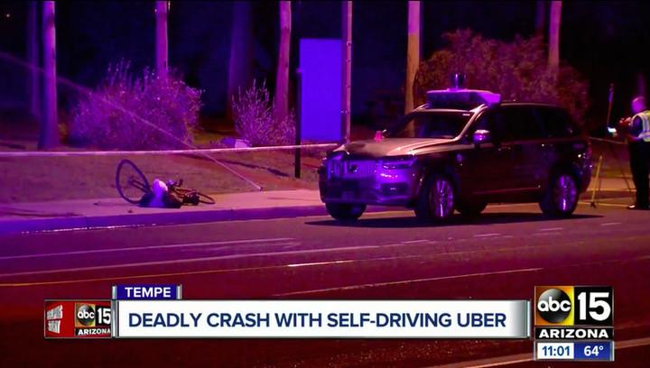 Робот не виноват: беспилотник Uber не мог избежать летального ДТП