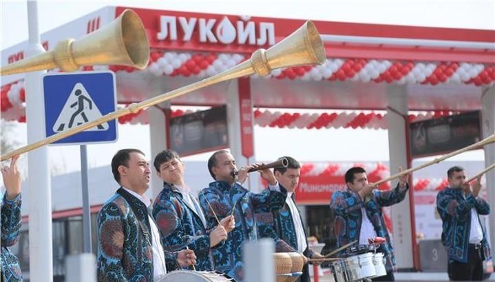 """""""ЛУКойл"""" открыл свою первую в Центральной Азии АЗС"""