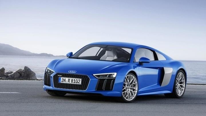 """Audi покажет в Нью-Йорке """"младшую"""" модификацию суперкара R8"""