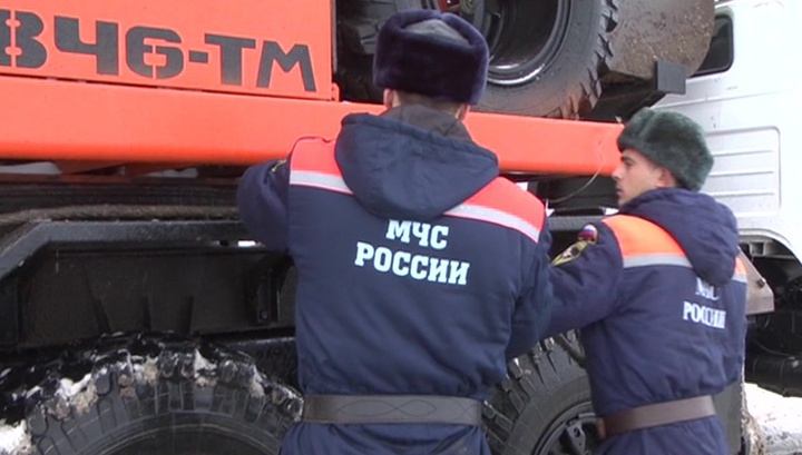 В центре Грозного горит многоэтажка