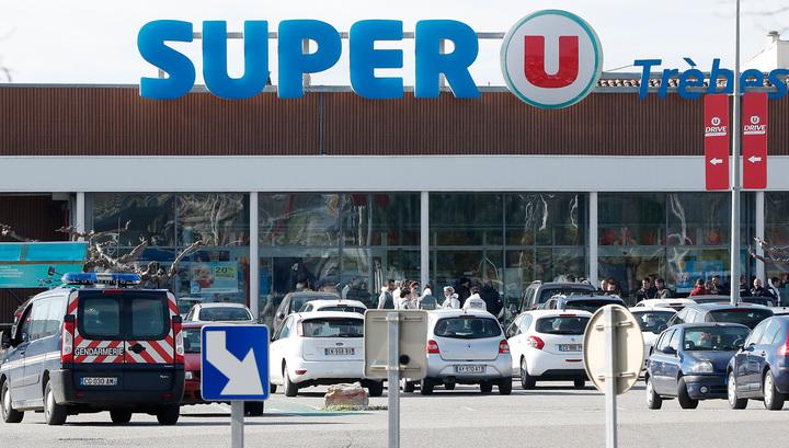 В освобожденном от террориста французском магазине нашли три бомбы