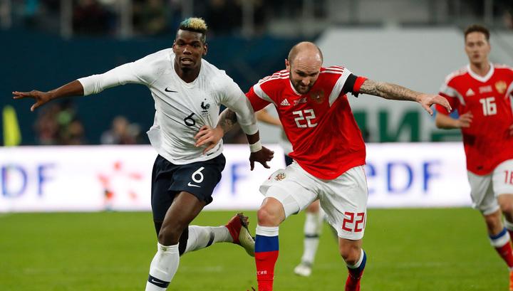 Футболисты сборной Франции не жаловались на расизм российских болельщиков