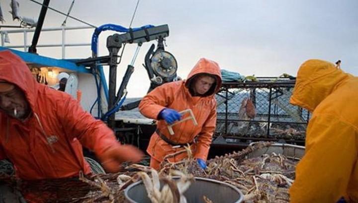 В России построят 40 судов для ловли крабов