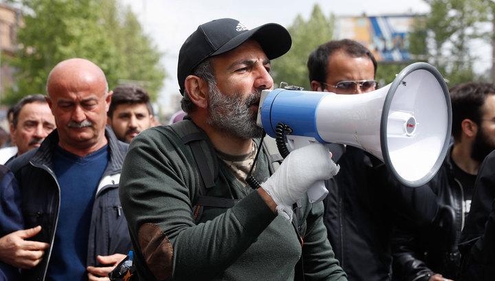 Лидер армянской оппозиции призывает к массовым акциям неповиновения