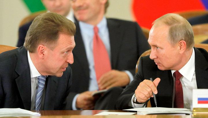 Шувалов хочет работать там, где скажет Путин
