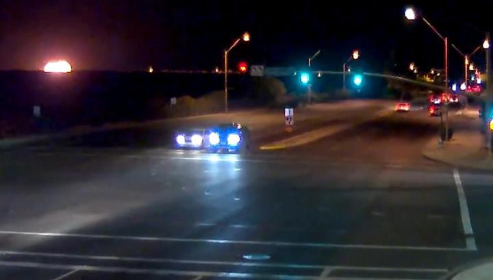 Огненный шар: момент крушения самолета с пассажирами в Аризоне попал на видео
