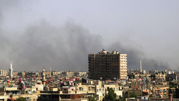 У посольства Ливии в Дамаске прогремел взрыв, есть жертвы