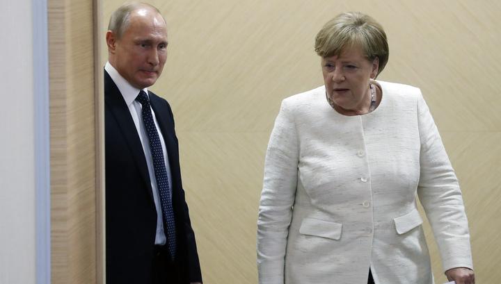 Путин: у России и Германии есть все шансы для полного восстановления отношений