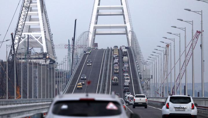 Оползень на подходе к Крымскому мосту не повлиял на безопасность движения