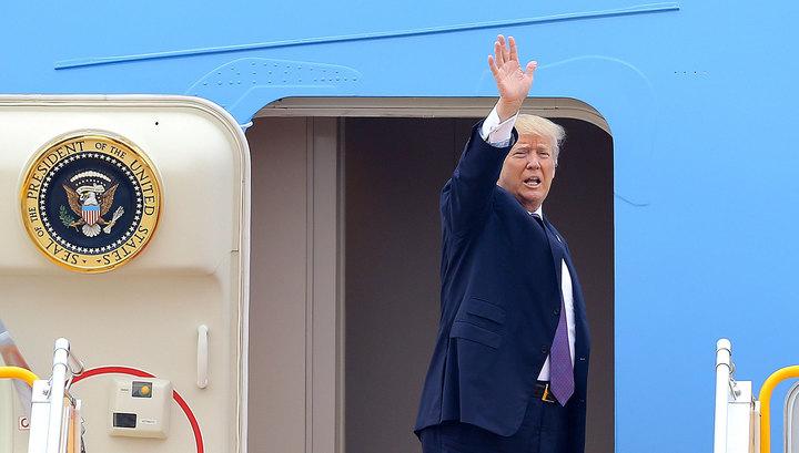 Трамп улетел к Киму, досрочно покинув G7