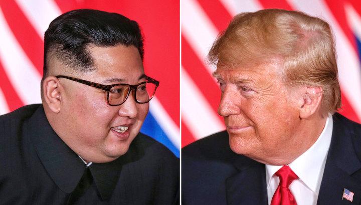 Трамп сравнил письма Кима с любовными посланиями