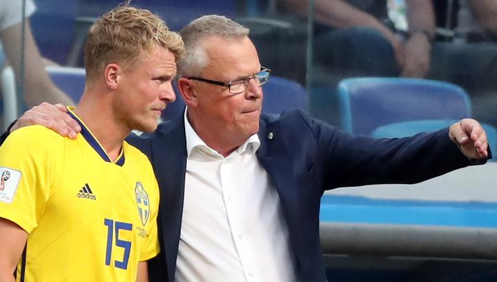 Тренера сборной Швеции напугал первый тайм с Южной Кореей