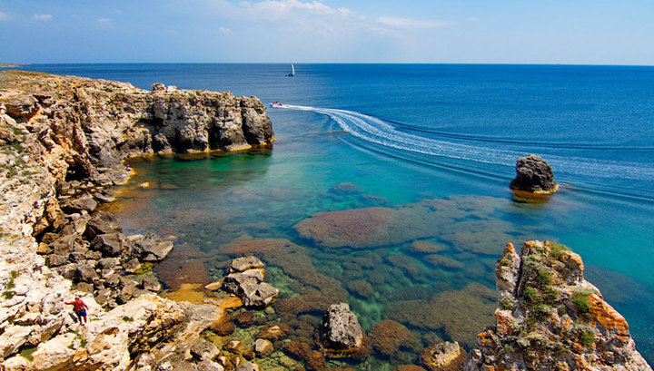 На затонувшем у берегов Крыма судне дайверы нашли картины