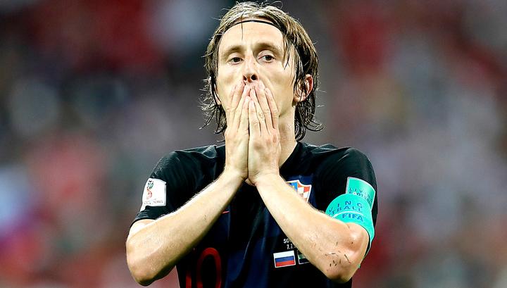 Модрич признан лучшим игроком матча Хорватия – Россия