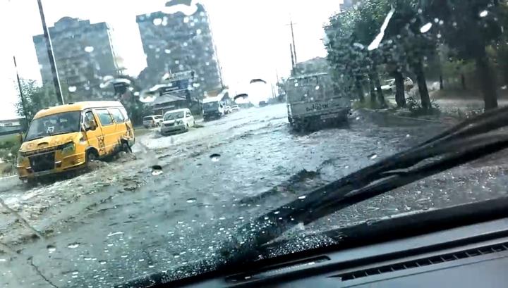За прошедшую ночь во Владивостоке выпала половина месячной нормы осадков
