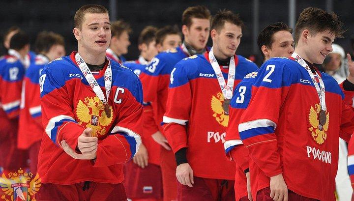 Хоккей. Российские юниоры завоевали бронзу Кубка Глинки/Гретцки
