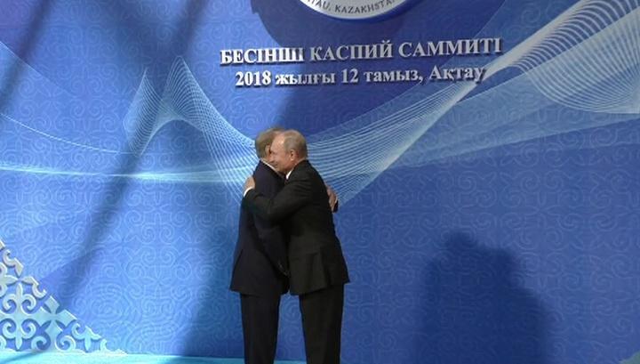 Путин: Россия готова расширить сотрудничество с прикаспийскими странами