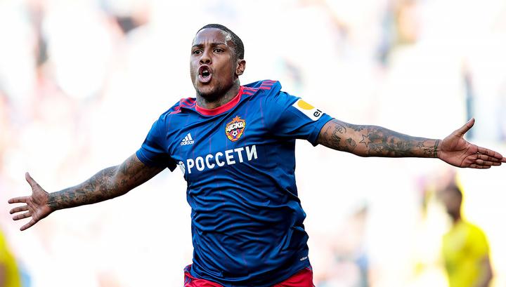 Нападающий Абель Эрнандес проведет остаток сезона в ЦСКА