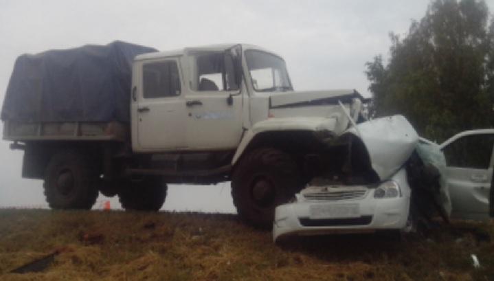 Женщина и трехмесячный ребенок погибли в аварии под Тамбовом