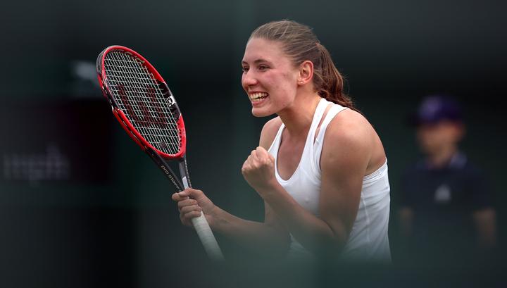 Александрова сразится с Пармантье в четвертьфинале турнира в Будапеште