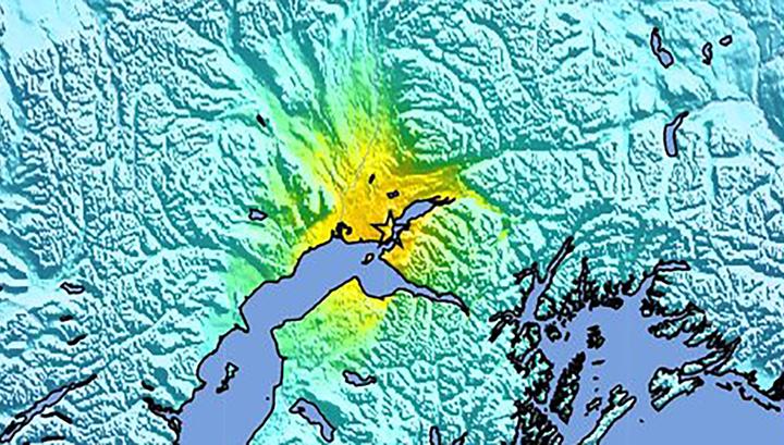 На Аляске после основного землетрясения зарегистрировано 40 афтершоков